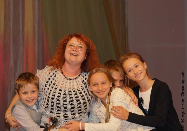 Марина Юрина и ее ученики