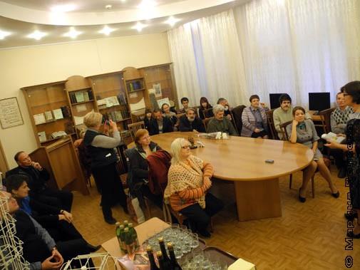 Презентация проходила в Музее книги Челябинской государственной академии культуры и искусств