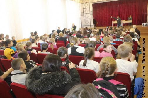 Читательский марафон в 46-ой школе Екатеринбурга