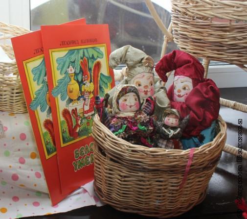Белочка-умелочка в кукольном мире