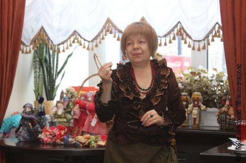 Светлана Репина, хозяйка Кукольной гостиной