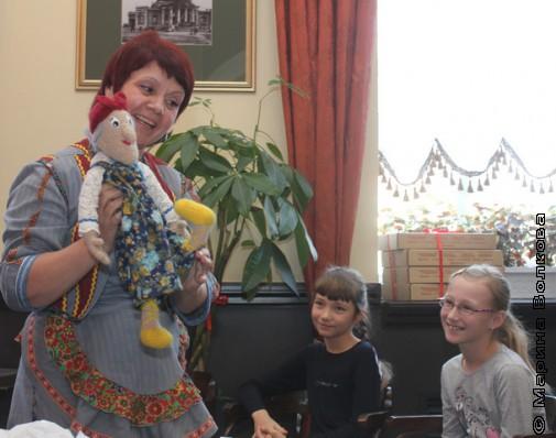 Нина Пикулева и ее Бабка Ёжка