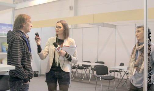 Общение с журналистами на КРЯКК