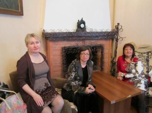 Марина Александрова из Нижневартовска, Нина Ягодинцева и Марина Анашкевич из Москвы