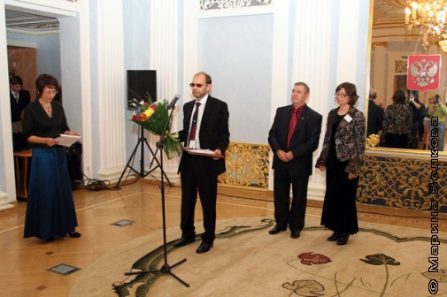 Премия вручена краеведу из ЯНАО Петру Казанцеву