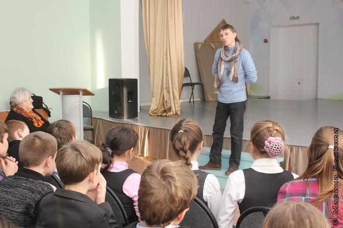 Читательский марафон в школе № 16 Арзамаса