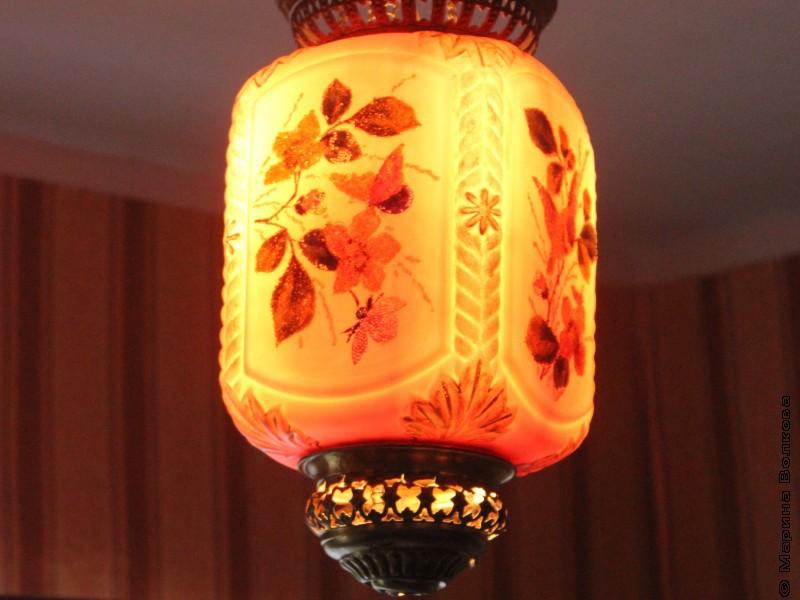 Лампа в доме Аркадия Голикова (Гайдара)