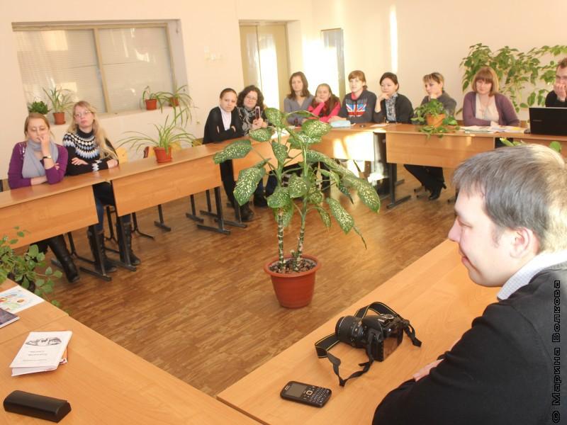 Встреча со студентами и преподавателями ЧИКиИ