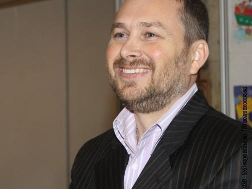 Андрей Сметанин, организатор Читательских марафонов в Беларуссии