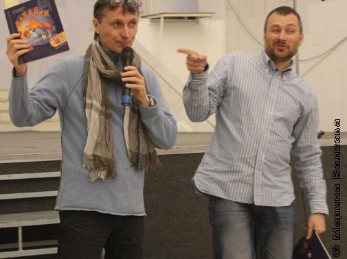 Михаил Придворов и Андрей Сметанин в третий день марафонов