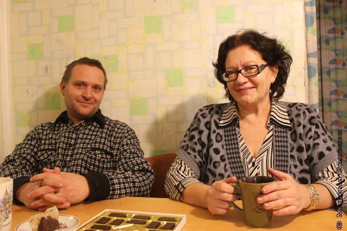 Александр Петрушкин и Марина Саввиных