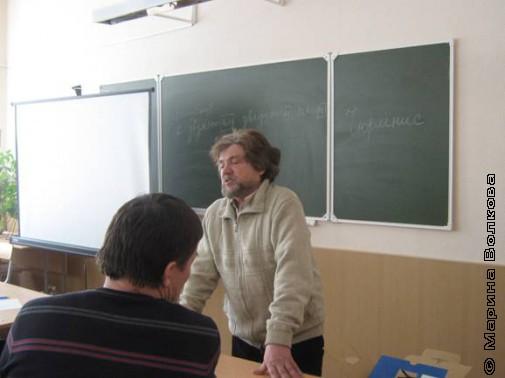 Встреча с писателем Олегом Павловым