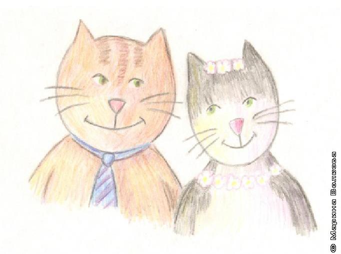 История про кошечку с сумочкой