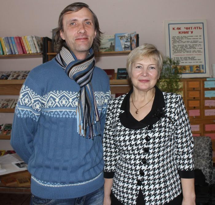 Янис Грантс и Валентина Гребнева