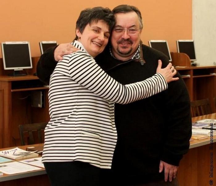 Ирина Аргутина и Вячеслав Шмыров