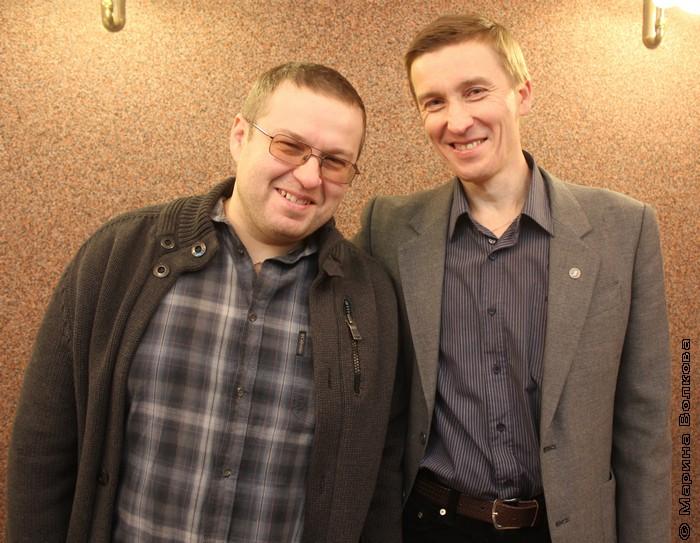 Эдуард Веркин и Олег Раин