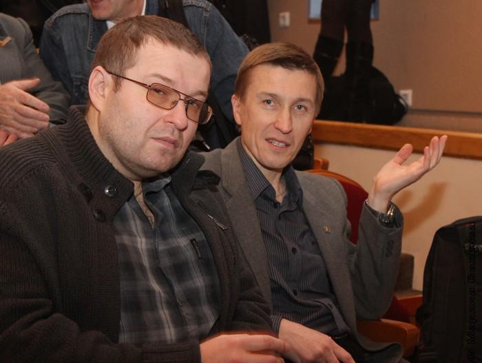 Снова Веркин и Раин