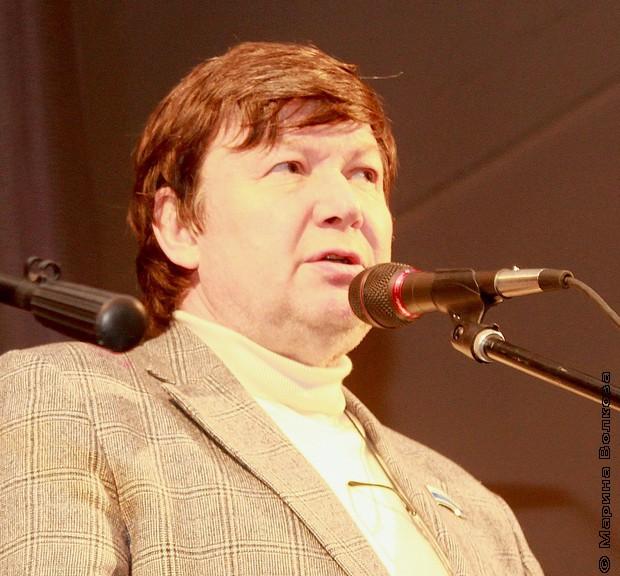 Председатель Екатеринбургского отделения Союза писателей России Евгени Петрович Касимов