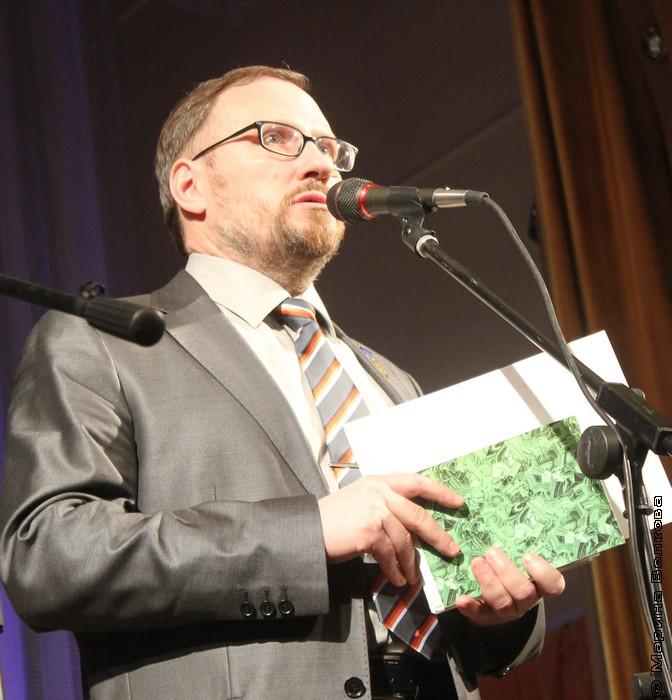 Председатель жюри премии Андрей Петрович Расторгуев