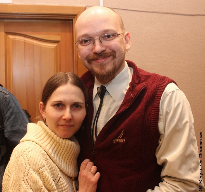 Сергей Ивкин с женой Татьяной