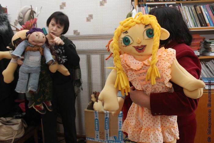 Куклы в Кизильской библиотеке