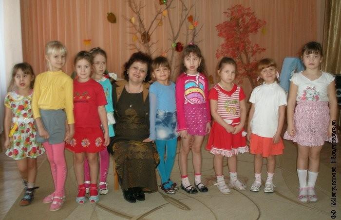 Елена Раннева и дети