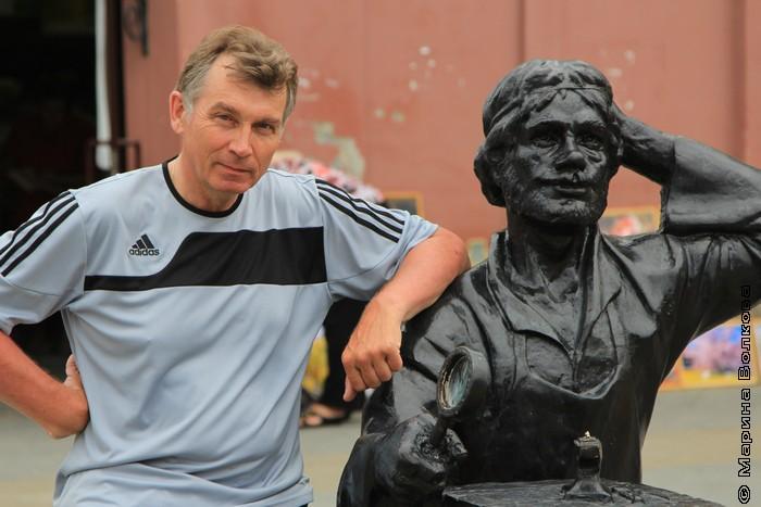 Александр Кузнецов, внук Василия Кузнецова, на Кировке