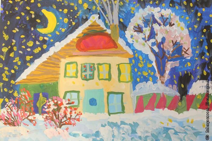 Накануне Рождества. Разина Яна, 8 лет, Свердловская область