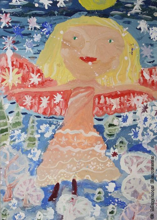 Веселый ангелочек. Жукова Мария, 8 лет
