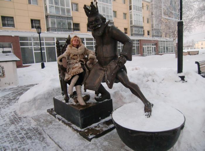 Светлана Лаврова в Тобольске
