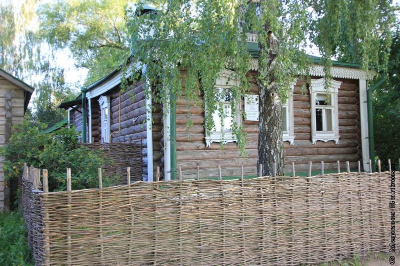 Дом, в котором родился и жил Есенин