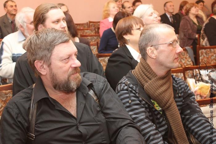 Олег Синицын и Янис Грантс