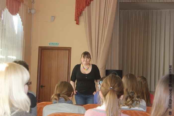 Римма Аглиуллина проводит мастер-класс