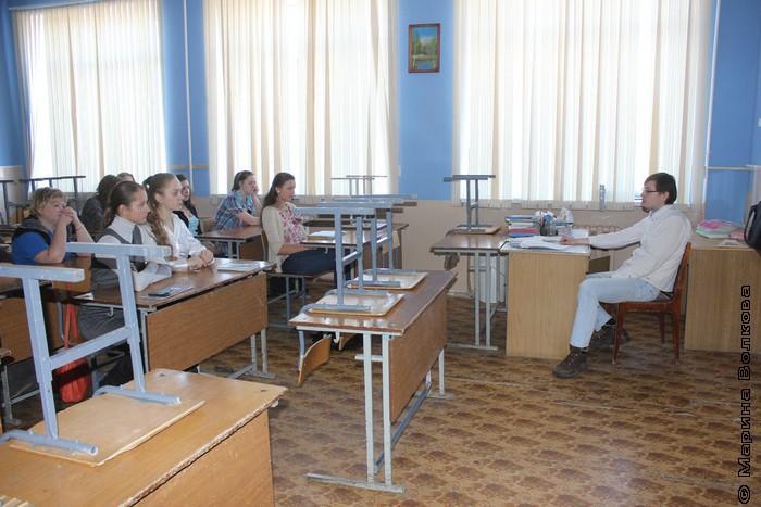Владимир Тарковский проводит мастер-класс