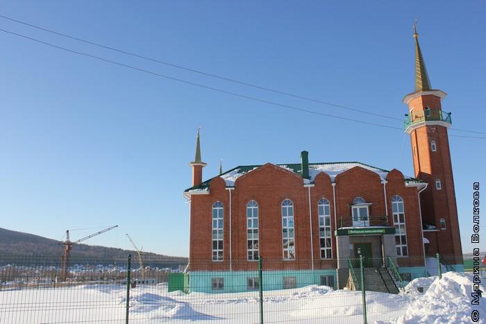 Мечеть № 8 в Учалах