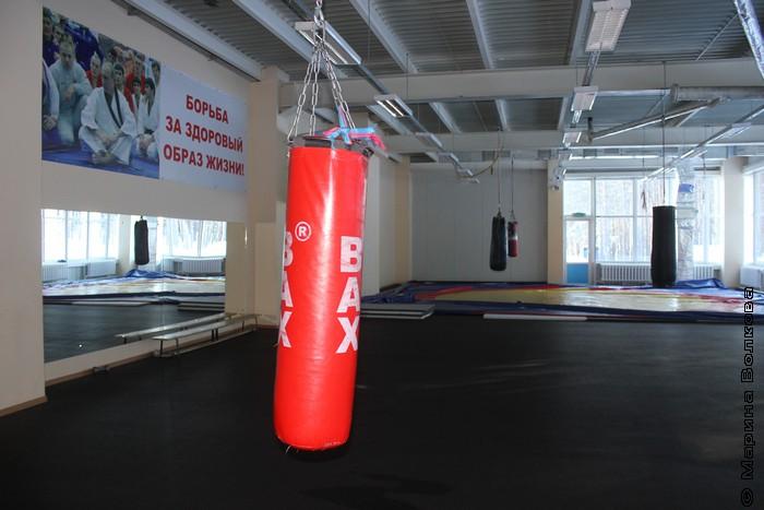 Зал для занятий борьбой
