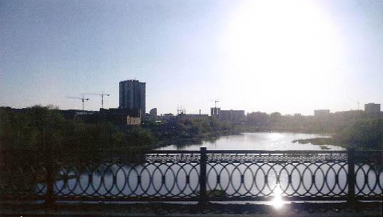 Мост через Миасс