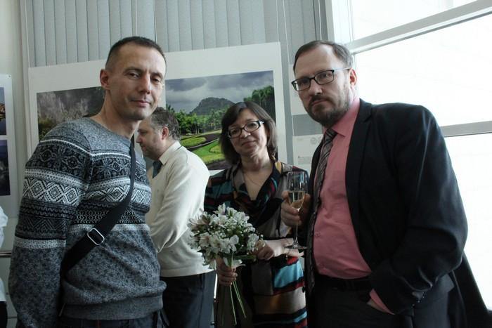 Михаил Стригин, Нина Ягодинцева и Андрей Расторгуев