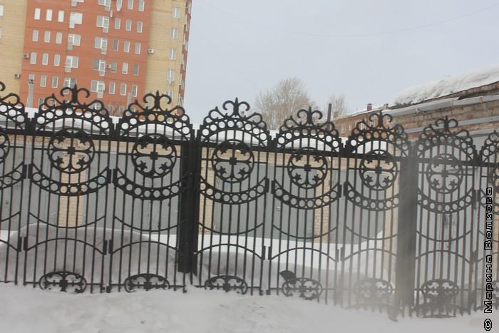 Омский забор