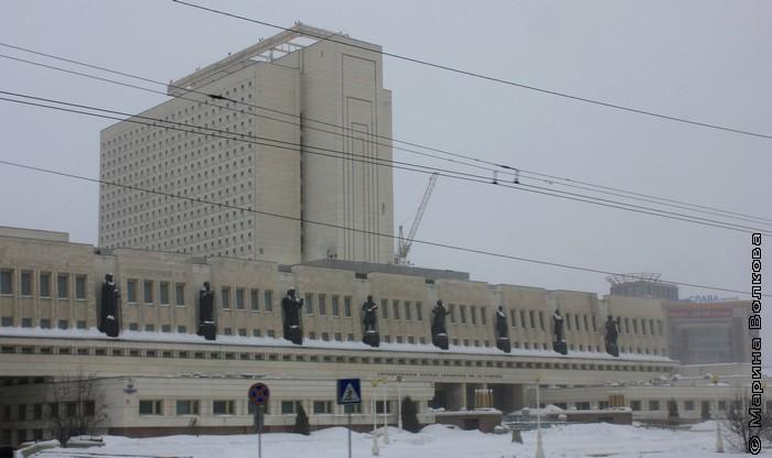 Библиотека имени А.С.Пушкина, Омск