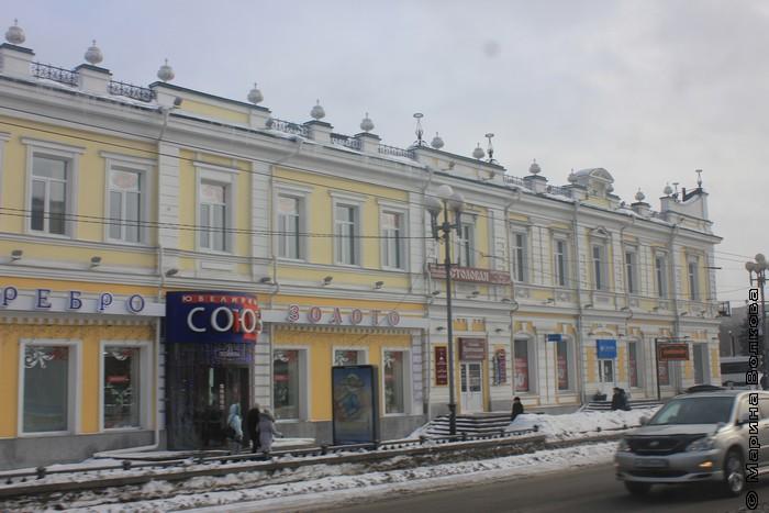 Старые здания в Омске
