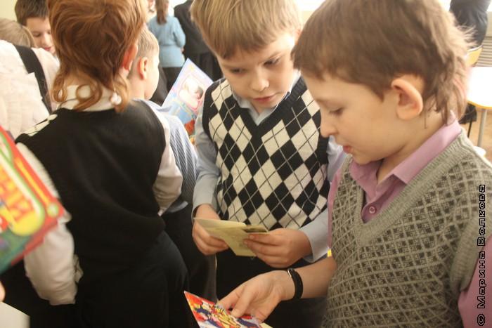 Мяу-эстафета в библиотеке Маяковского