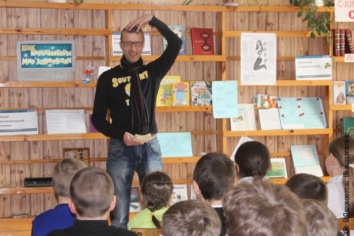 Янис Грантс на Неделе детской книги