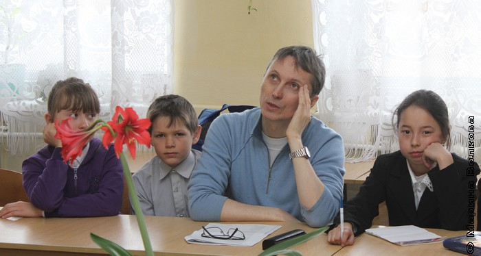 Мастер-класс Михаила Придворова