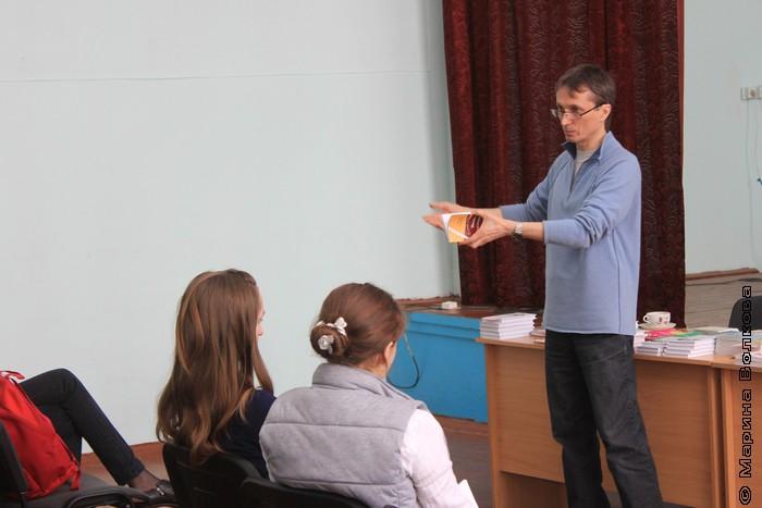 Михаил Придворов на Читательском марафоне № 436  в Бродокалмаке