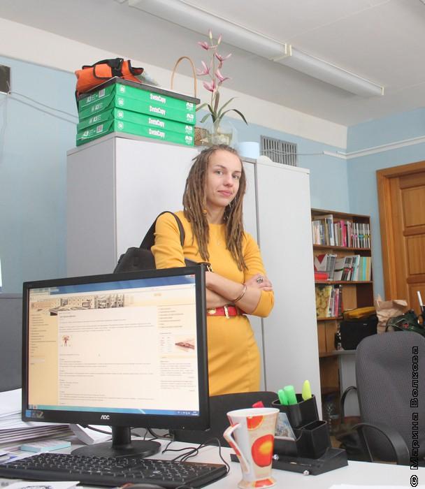"""Анна Волкова, менеджер проекта """"Молодые-молодым"""""""