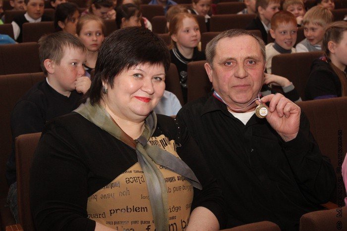 Елена Сыч и Алексей Столяров