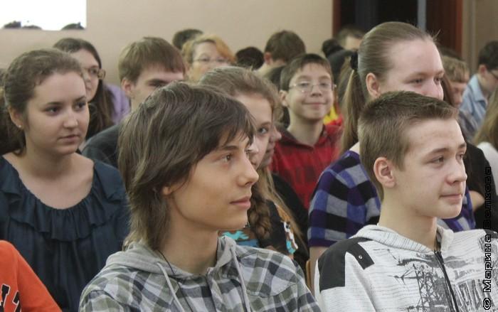 Восьмые классы 76-ой гимназии