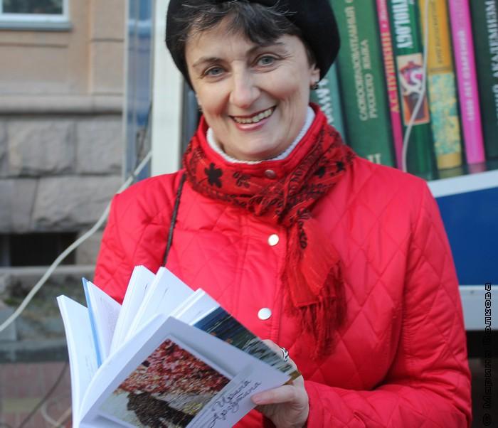 Ирина Аргутина готовится к выступлению на Библионочи в ЧОУНБ