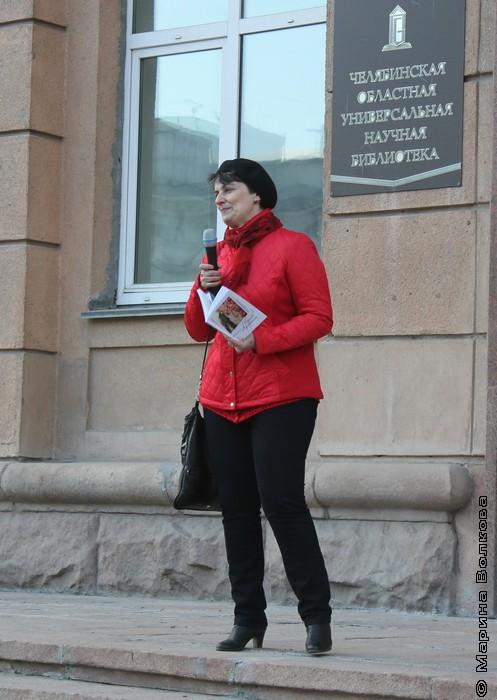 Ирина Аргутина в центре внимания
